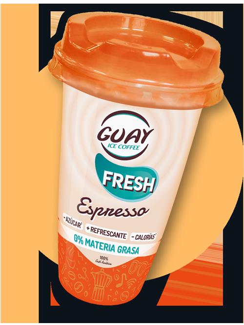 Guay café fresh Espresso - Café listo para beber