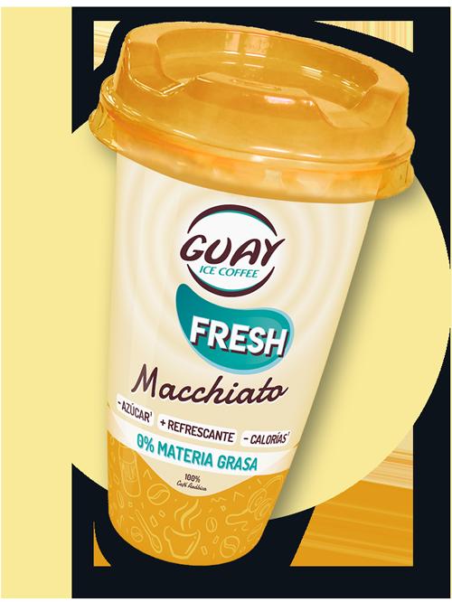 Guay café fresh Macchiato - Café listo para beber
